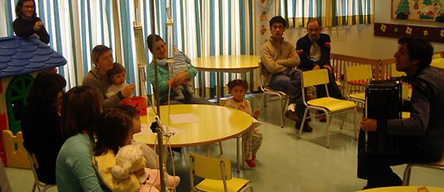 Gonçalo Pescada na Pediatria do Hospital Amato Lusitano