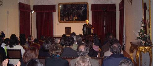Vladimir Chernukh em concerto, no Governo Civil