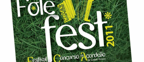 Cartaz e regulamento do concurso – Folefest 2011