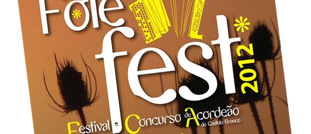 Cartaz e regulamento do concurso – Folefest 2012