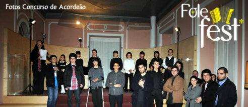 Fotos do concurso de acordeão – Folefest 2012