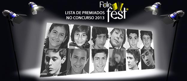 Resultados do Concurso Folefest 2013