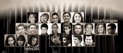 Resultados do Concurso Folefest 2014