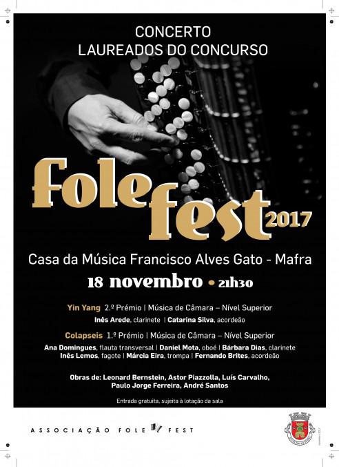 Concerto de Laureados Folefest – Mafra