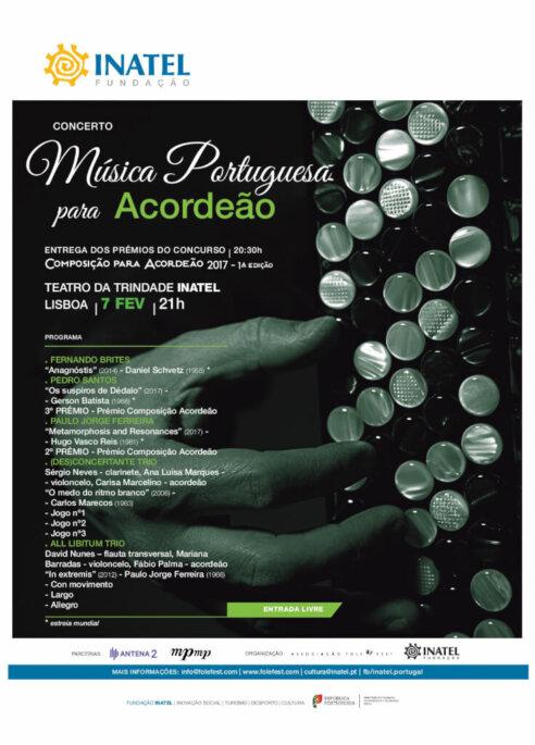 Concerto Música Portuguesa para Acordeão