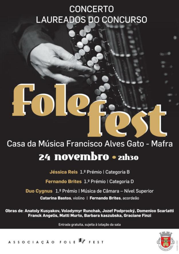 Concerto de Laureados Folefest – Mafra 2018