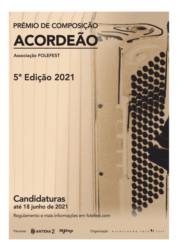 Prémio de Composição Acordeão 2021