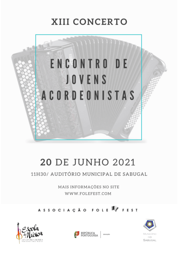 13º Concerto/Encontro de Jovens Acordeonistas Portugueses (2021)