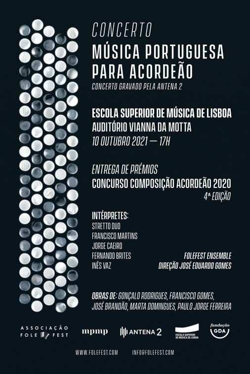 "Concerto ""Música Portuguesa para Acordeão"" 2021"